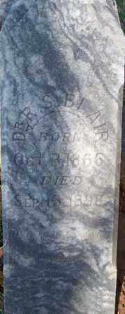 BLAIR, DR R. S. - Independence County, Arkansas | DR R. S. BLAIR - Arkansas Gravestone Photos