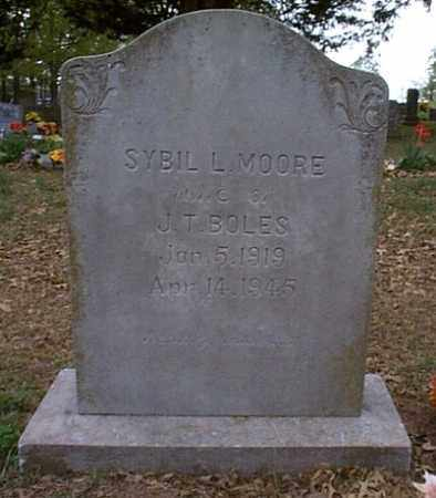 BOLES, SYBIL LORRAINE - Independence County, Arkansas | SYBIL LORRAINE BOLES - Arkansas Gravestone Photos