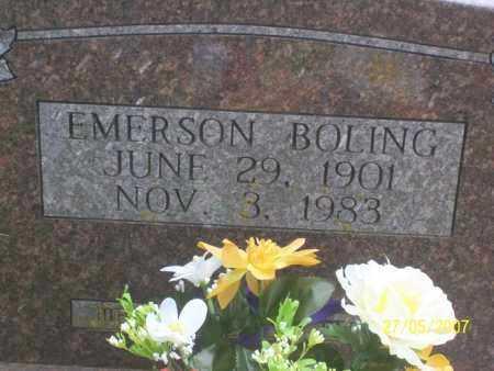 BOLING, EMERSON - Independence County, Arkansas | EMERSON BOLING - Arkansas Gravestone Photos