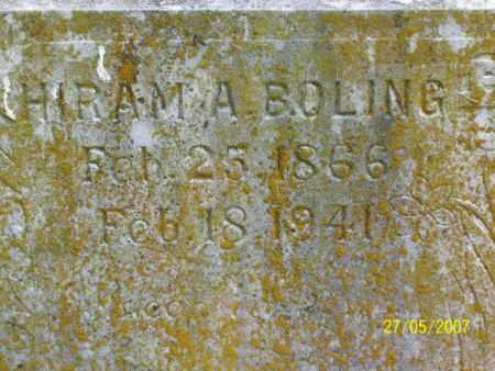 BOLING, HIRAM ALEXANDER - Independence County, Arkansas | HIRAM ALEXANDER BOLING - Arkansas Gravestone Photos