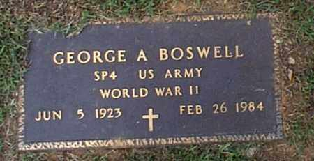 BOSWELL, GEORGE ALFIS - Independence County, Arkansas   GEORGE ALFIS BOSWELL - Arkansas Gravestone Photos