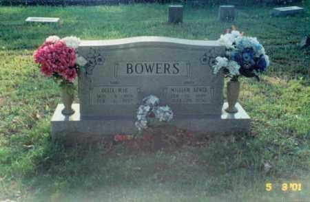 BOWERS, WILLIAM LEWIS - Independence County, Arkansas | WILLIAM LEWIS BOWERS - Arkansas Gravestone Photos