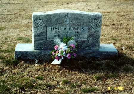 BOWERS, WALTER LEWIS - Independence County, Arkansas | WALTER LEWIS BOWERS - Arkansas Gravestone Photos