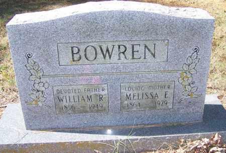 BOWREN, MELISSA E - Independence County, Arkansas | MELISSA E BOWREN - Arkansas Gravestone Photos