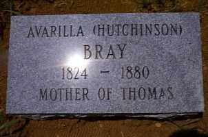 HUTCHINSON BRAY, AVARILLA - Independence County, Arkansas | AVARILLA HUTCHINSON BRAY - Arkansas Gravestone Photos
