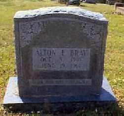 BRAY, ALTON L. - Independence County, Arkansas   ALTON L. BRAY - Arkansas Gravestone Photos