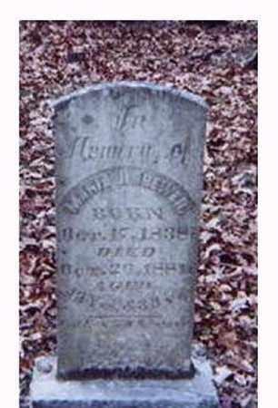 BREWER, MARIA - Independence County, Arkansas   MARIA BREWER - Arkansas Gravestone Photos