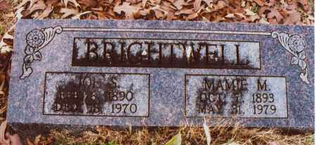 BRIGHTWELL, JOE S. - Independence County, Arkansas | JOE S. BRIGHTWELL - Arkansas Gravestone Photos