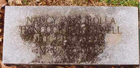 HANCOCK, NANCY ANN - Independence County, Arkansas | NANCY ANN HANCOCK - Arkansas Gravestone Photos