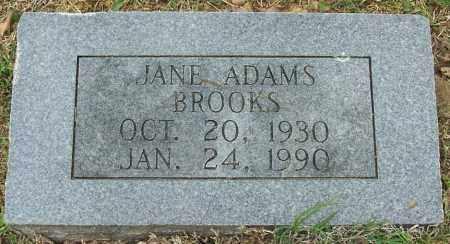 BROOKS, JANE - Independence County, Arkansas | JANE BROOKS - Arkansas Gravestone Photos