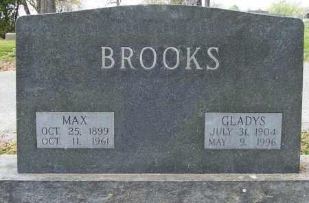 BROOKS, MAX - Independence County, Arkansas | MAX BROOKS - Arkansas Gravestone Photos