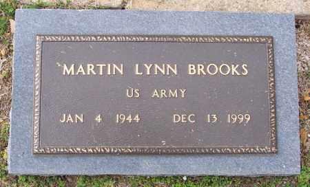 BROOKS  (VETERAN), MARTIN LYNN - Independence County, Arkansas | MARTIN LYNN BROOKS  (VETERAN) - Arkansas Gravestone Photos