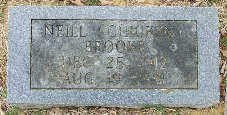 """BROOKS, NEILL """"CHICKEN"""" - Independence County, Arkansas 