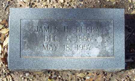 BURBA, JAMES H. - Independence County, Arkansas   JAMES H. BURBA - Arkansas Gravestone Photos