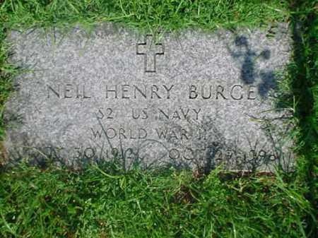 "BURGE  (VETERAN WWII), CORNELIUS ""NEIL"" HENRY - Independence County, Arkansas   CORNELIUS ""NEIL"" HENRY BURGE  (VETERAN WWII) - Arkansas Gravestone Photos"