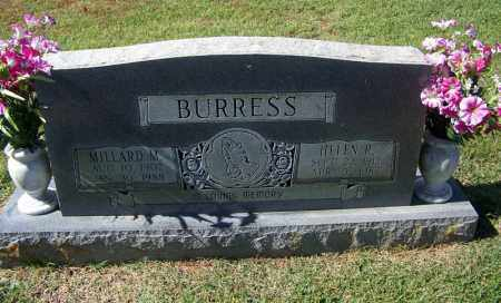 BURRESS, MILLARD M - Independence County, Arkansas | MILLARD M BURRESS - Arkansas Gravestone Photos