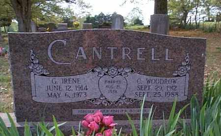 CANTRELL, G. IRENE - Independence County, Arkansas | G. IRENE CANTRELL - Arkansas Gravestone Photos