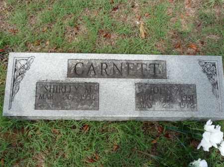CARNETT, SHIRLEY M. - Independence County, Arkansas   SHIRLEY M. CARNETT - Arkansas Gravestone Photos
