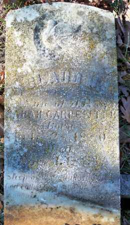 CARPENTER, CLAUDE H. - Independence County, Arkansas | CLAUDE H. CARPENTER - Arkansas Gravestone Photos