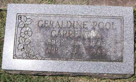 CARPENTER, GERALDINE - Independence County, Arkansas   GERALDINE CARPENTER - Arkansas Gravestone Photos