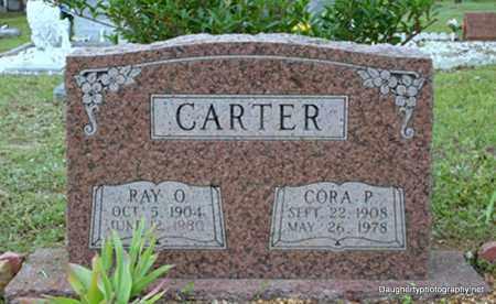 THOMAS CARTER, CORA - Independence County, Arkansas | CORA THOMAS CARTER - Arkansas Gravestone Photos