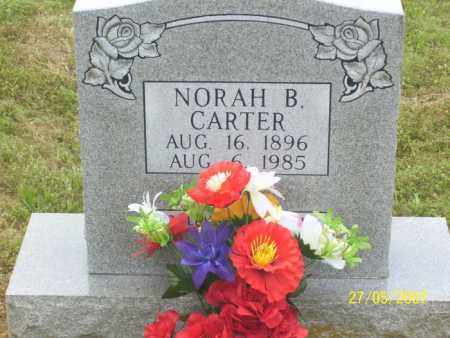 CARTER, NORAH B. - Independence County, Arkansas | NORAH B. CARTER - Arkansas Gravestone Photos