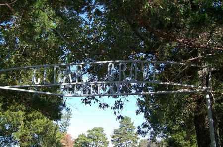 *CEDAR GROVE CEMETERY GATE,  - Independence County, Arkansas    *CEDAR GROVE CEMETERY GATE - Arkansas Gravestone Photos