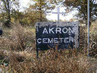 *AKRON CEMETERY,  - Independence County, Arkansas |  *AKRON CEMETERY - Arkansas Gravestone Photos