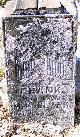 CLARK, FRANK - Independence County, Arkansas   FRANK CLARK - Arkansas Gravestone Photos