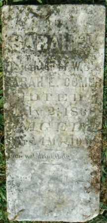COMER, SARAH J - Independence County, Arkansas | SARAH J COMER - Arkansas Gravestone Photos