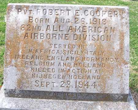 COOPER (VETERAN WWII, KIA), ROBERT E - Independence County, Arkansas | ROBERT E COOPER (VETERAN WWII, KIA) - Arkansas Gravestone Photos