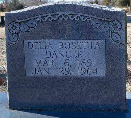 DANCER, DELIA ROSETTA - Independence County, Arkansas   DELIA ROSETTA DANCER - Arkansas Gravestone Photos