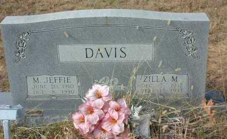 DAVIS, M. JEFFIE - Independence County, Arkansas   M. JEFFIE DAVIS - Arkansas Gravestone Photos