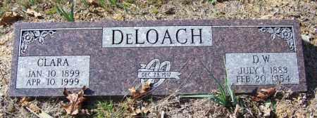 DELOACH, CLARA - Independence County, Arkansas   CLARA DELOACH - Arkansas Gravestone Photos