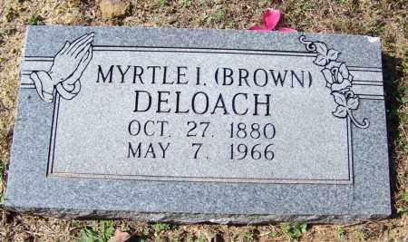 BROWN DELOACH, MYRTLE JANE I - Independence County, Arkansas | MYRTLE JANE I BROWN DELOACH - Arkansas Gravestone Photos
