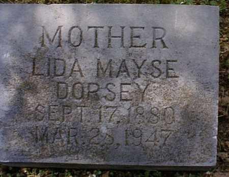 DORSEY, LIDA - Independence County, Arkansas | LIDA DORSEY - Arkansas Gravestone Photos