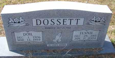 DOSSETT, DOIL - Independence County, Arkansas | DOIL DOSSETT - Arkansas Gravestone Photos