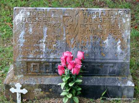 DOSSETT, RHODA - Independence County, Arkansas | RHODA DOSSETT - Arkansas Gravestone Photos