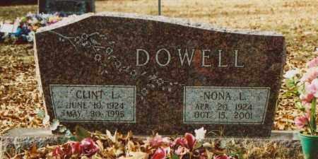 DOWELL, CLINT L. - Independence County, Arkansas | CLINT L. DOWELL - Arkansas Gravestone Photos