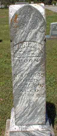 ELLER, MARION A. - Independence County, Arkansas | MARION A. ELLER - Arkansas Gravestone Photos