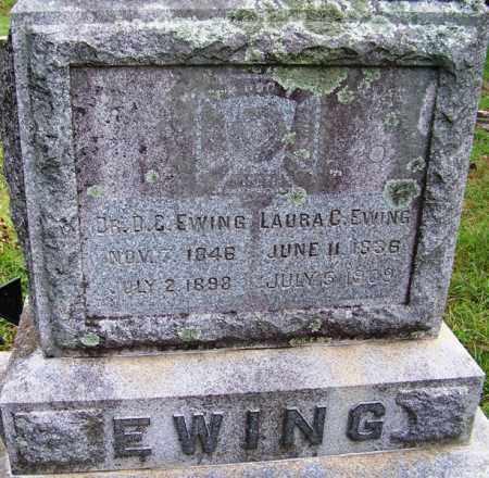 EWING DR (VETERAN CSA), D C - Independence County, Arkansas | D C EWING DR (VETERAN CSA) - Arkansas Gravestone Photos