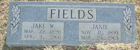"FIELDS, JACOB WESLEY ""JAKE"" - Independence County, Arkansas 