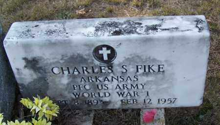 FIKE (VETERAN WWI), CHARLES S - Independence County, Arkansas | CHARLES S FIKE (VETERAN WWI) - Arkansas Gravestone Photos