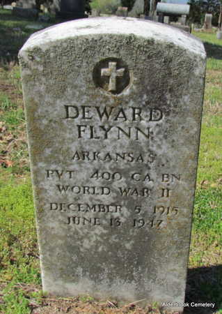 FLYNN (VETERAN WWII), DEWARD - Independence County, Arkansas | DEWARD FLYNN (VETERAN WWII) - Arkansas Gravestone Photos
