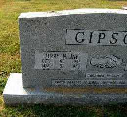 """GIPSON, JERRY N. """"JAY"""" - Independence County, Arkansas 