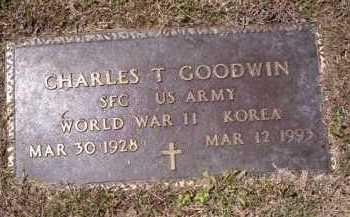 GOODWIN  (VETERAN 2 WARS), CHARLES T. - Independence County, Arkansas | CHARLES T. GOODWIN  (VETERAN 2 WARS) - Arkansas Gravestone Photos