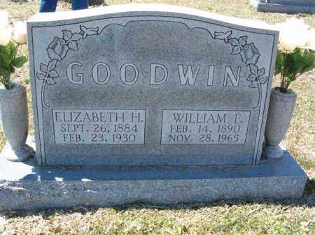 GOODWIN, WILLIAM F. - Independence County, Arkansas | WILLIAM F. GOODWIN - Arkansas Gravestone Photos
