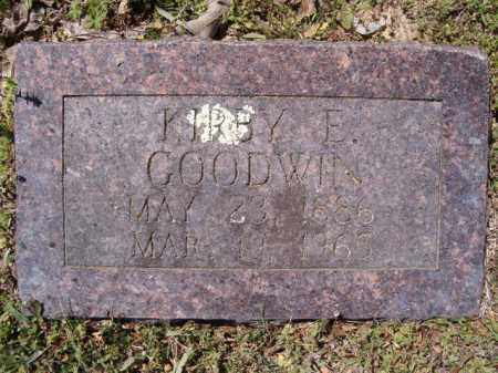 GOODWIN, KIRBY E. - Independence County, Arkansas | KIRBY E. GOODWIN - Arkansas Gravestone Photos