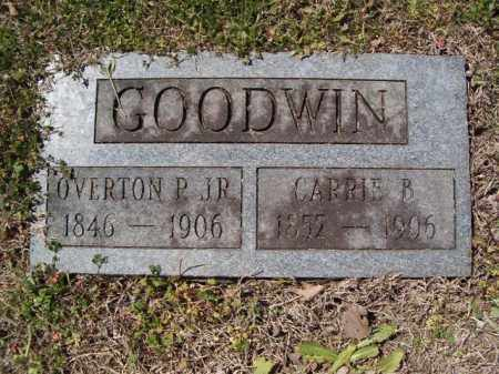GOODWIN, CARRIE B. - Independence County, Arkansas | CARRIE B. GOODWIN - Arkansas Gravestone Photos