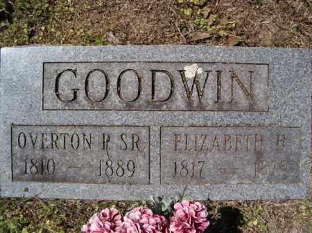 GOODWIN, OVERTON PETREE SR. - Independence County, Arkansas | OVERTON PETREE SR. GOODWIN - Arkansas Gravestone Photos